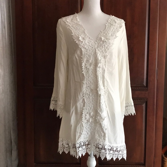 Solitaire Other - 🌸New!🌸Solitaire Swim Cover-Up Dress Size L